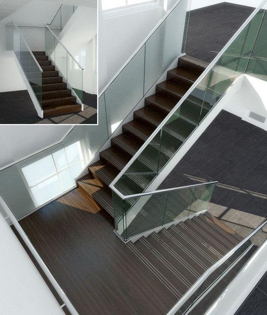 Các loại vách ngăn kính cầu thang cho bạn lựa chọn