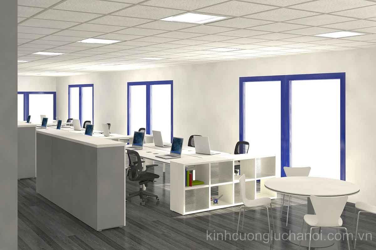Sử dụng kính màu tạo nét riêng biệt cá tính cho văn phòng