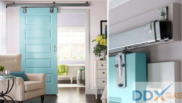 Thiết kế cửa trượt cho phòng khách có diện tích hẹp